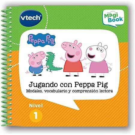 Vtech- Jugando con Peppa Pig Libro para Magibook, Multicolor (80-480422)