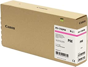 Canon PFI-1700 700ml Photo Magenta Pigment Ink Tank for imagePROGRAF PRO-2000, PRO-4000, PRO-4000S and PRO-6000S Large-For...