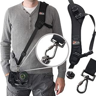 Camera Strap,Ocim Camera Sling Strap with Quick Release, Adjustable and Comfortable Neck/Shoulder Belt for DSLR/SLR Camera (Nikon, Canon, Sony) Universal Belt Women/Men