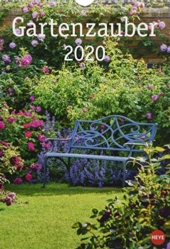 Gartenzauber. Wandkalender 2020. Monatskalendarium. Spiralbindung. Format 23,5 x 33,5 cm