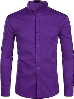 Best mens slim fit yellow dress shirt Reviews