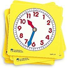 Learning Resources Pupil Clock Dials (Set of 10)