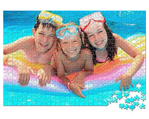 PUZZLEPRIX Puzzle Personalizado con tu Foto - 1000 Piezas (cartón), 48 x 68 cm