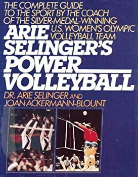 Hardcover Arie Selenger's Power Volleyball Book