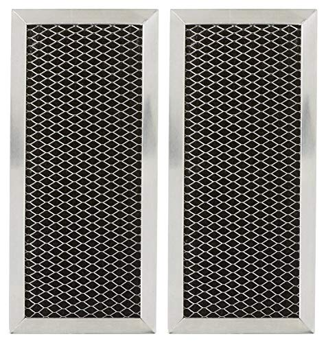 Replacement for GE JX81H, WB02X10956, Microwave Recirculating Charcoal Filter (2-Pack)