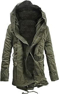 Men's Coat, FORUU Winter Warm Hooded Zip Thick Solid Fleece Outwear Wind Jacket