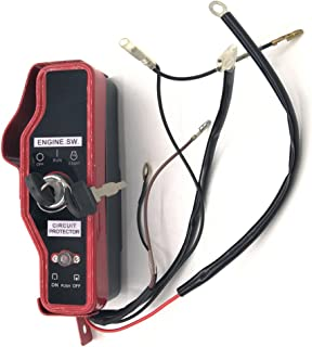 shiosheng Key Ignition Switch Box w/Keys for Honda GX340 GX390 GX 340 390 11HP 13HP Gas Engine Motor Generator Pump