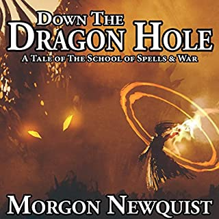 Down the Dragon Hole audiobook cover art