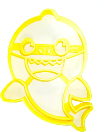 BABY SHARK CHILDREN SONG VIRAL SOCIAL MEDIA VIDEO SPECIAL OCCASION COOKIE CUTTER BAKING TOOL 3D PRINTED