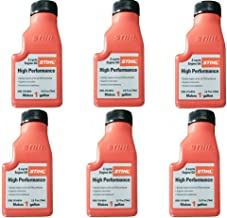 STIHL 0781 319 8008 2.6 Ounce High Performance 2 Cycle Engine Oil, 6 Pack