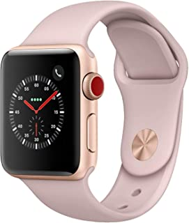 Apple Watch Series 3 38mm (GPS + Celular) - Caja De Aluminio En Oro / Pomelo Correa Deportiva (Reacondicionado)