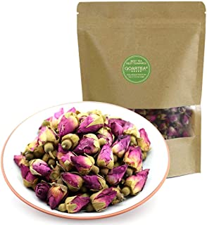 GOARTEA 50g (1.76 Oz) Organic Red Rosebud Rose Buds Flower Floral Dry Herbal Health Chinese Tea kruiden thee