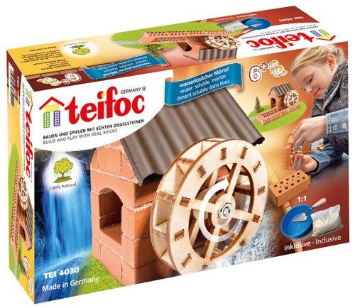 Teifoc Steinbaukästen Konstruktionsspielzeug Wasserrad