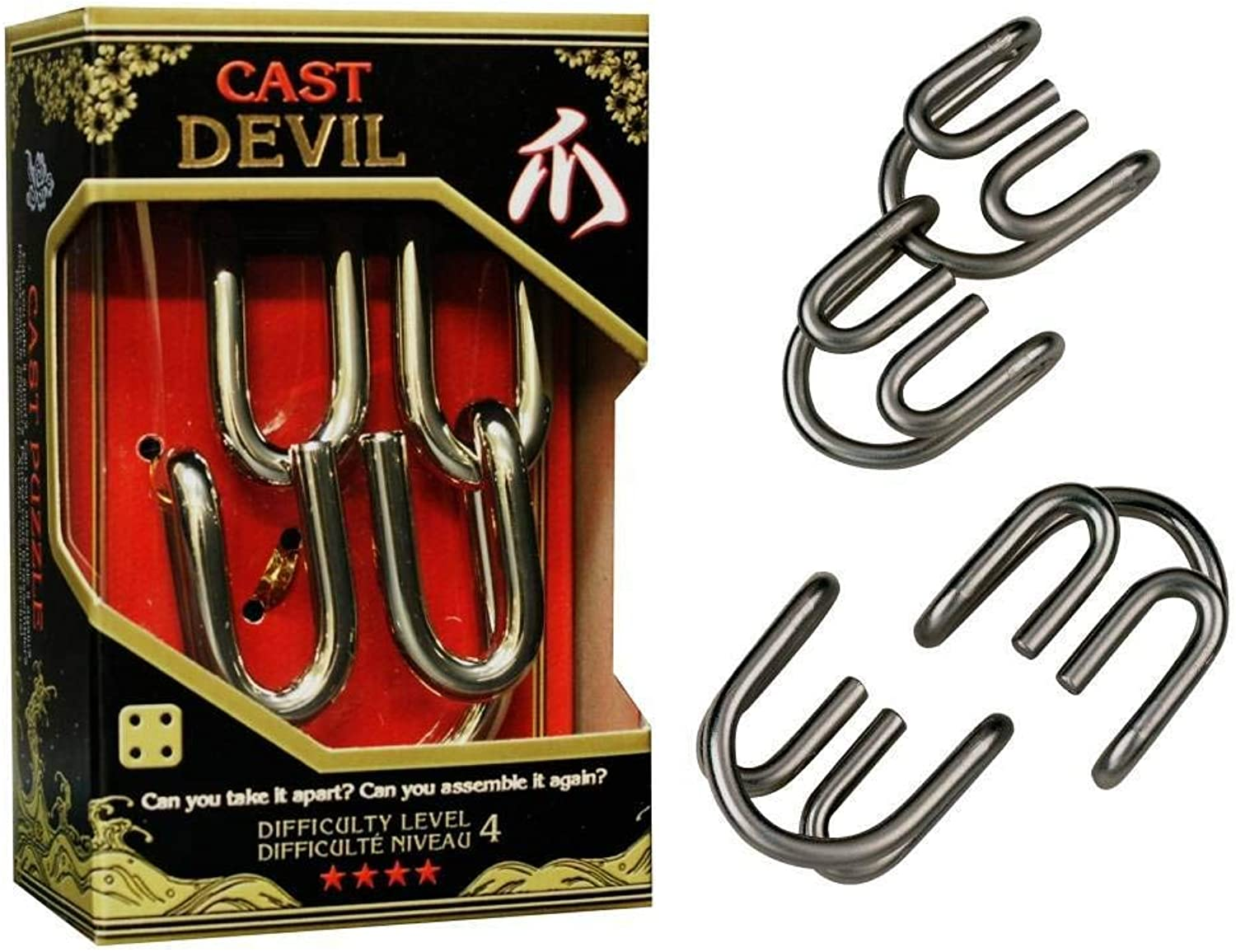 Cast Devil  Hanayama Cast Metal Puzzle
