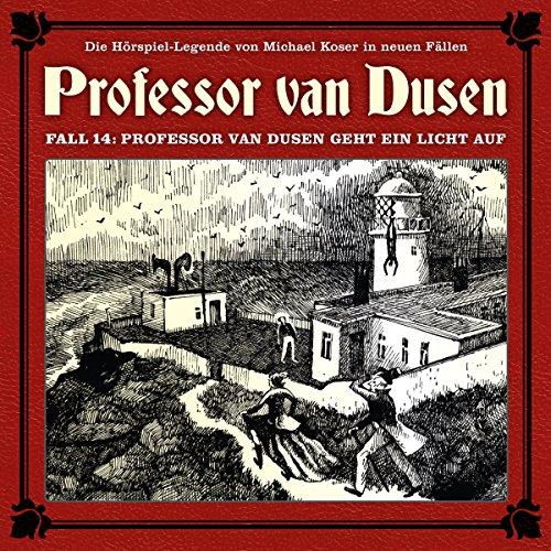 Professor van Dusen geht ein Licht auf audiobook cover art