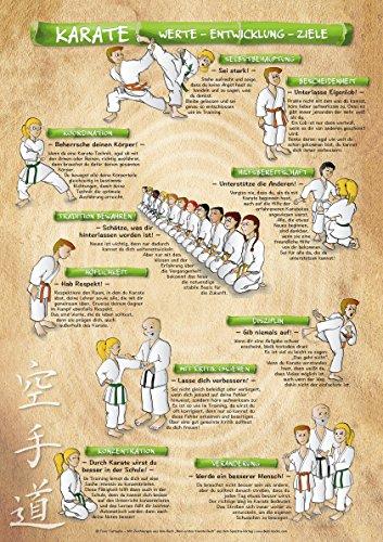 Spectra Verlag Karate   Kinder Karate Poster   DIN A1 – 594 x 841 mm