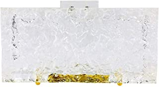 Crushed Ice Design - Clear Clutch/Evening bag