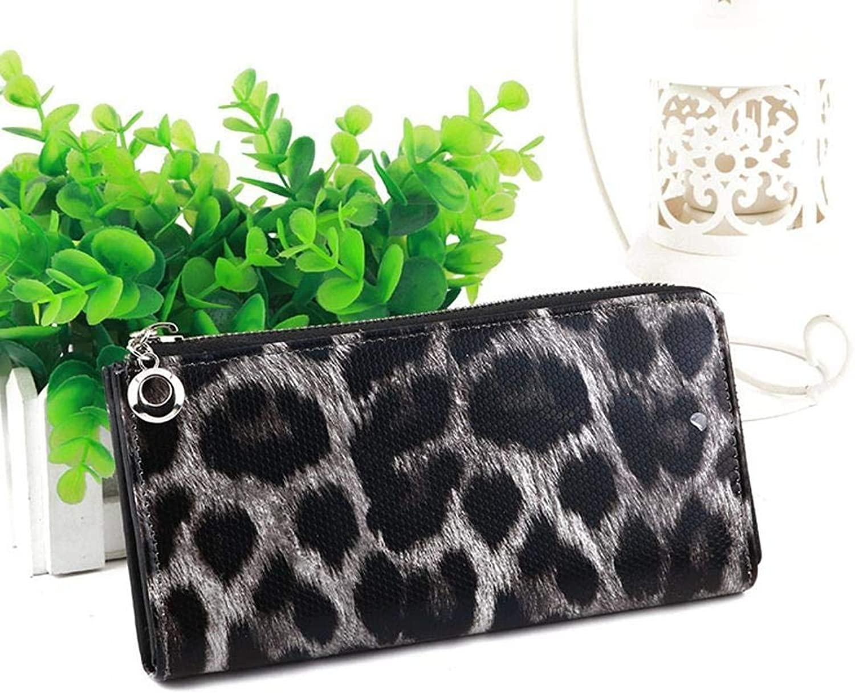 Girls Purse Women's Wallet,Ladies Wallet Large Zip Zipper Hand Bag Pu Leather (color   C)
