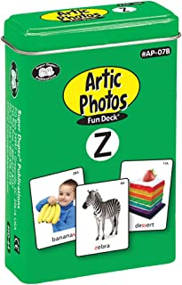 Super Duper Publications Articulation Photos Z Fun Deck Flash Cards - Revised Photos Educational Learning Resource for Children