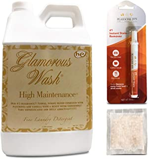 Tyler HIGH Maintenance Glamorous Wash Laundry Detergent - Half Gallon/ 64oz - (Bundled with Pearsons Stain Remover Pen and Sachet)