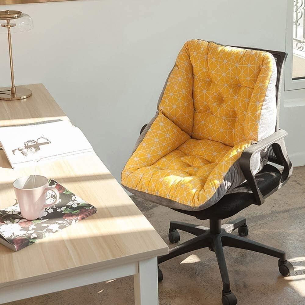 HUANGSHAM Chaise de Jardin Tapis Coussins, Coussins de siège en Plein air avec Coussin de Soutien Lombaire for Patio Bureau et Fauteuil Roulant Coussin de Jardin (Color : F) C
