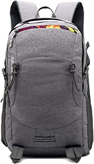 YXLZZO Backpack Waterproof Multi-Function Outdoor Mountaineering Bag Large-Capacity Travel Bag Gray Blue (Color : Gray)