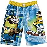 Despicable Me Minions Boy Swim Trunks Shorts Size 10/12