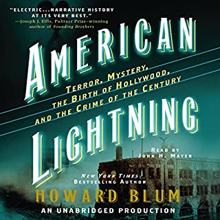 American Lightning audiobook cover art