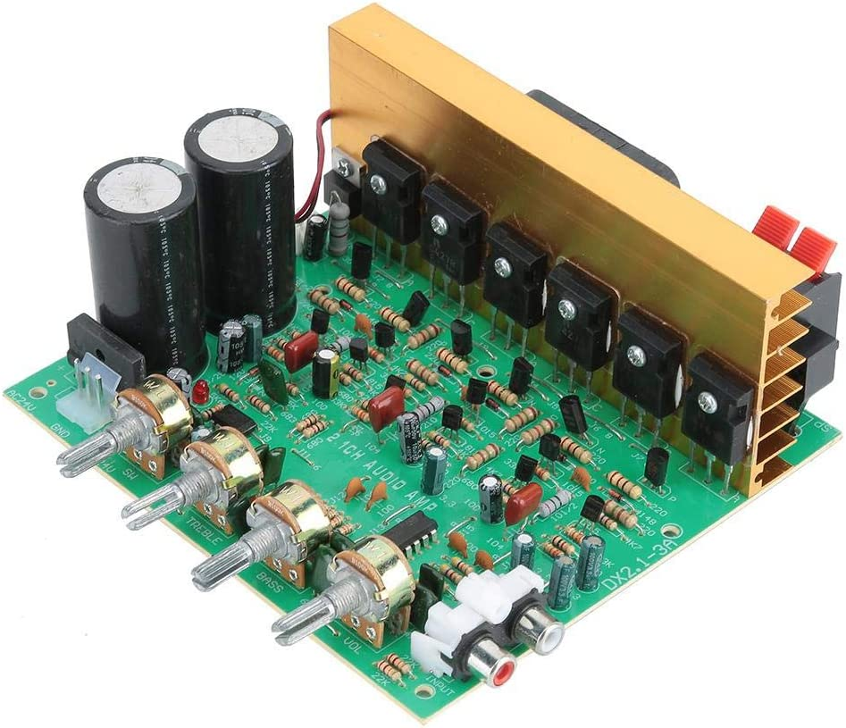 Amplifier Board 240W High Power 2.1 Subwoofer Power Amplifier Board 3 Channel Bluetooth Audio Amplifier Board Home Theater