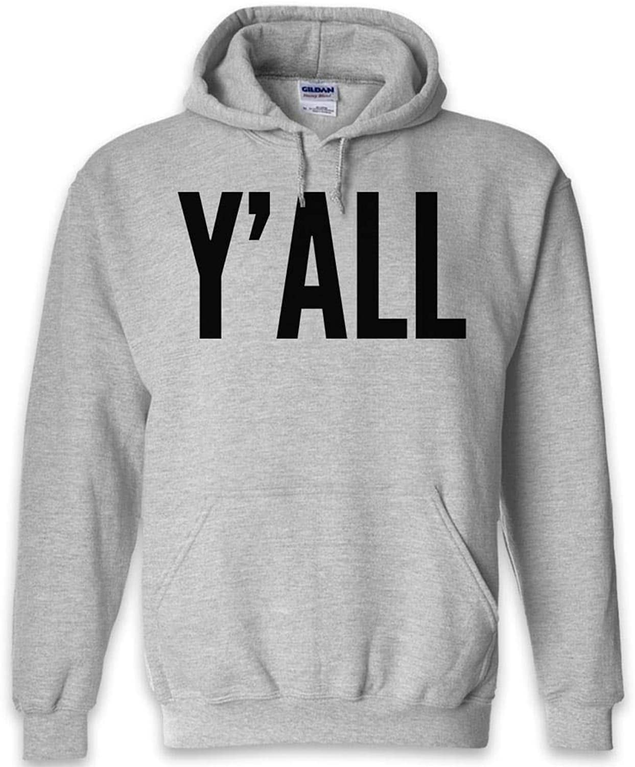 Yall Funny Hoodie   Black Navy Grey   S to 2XL