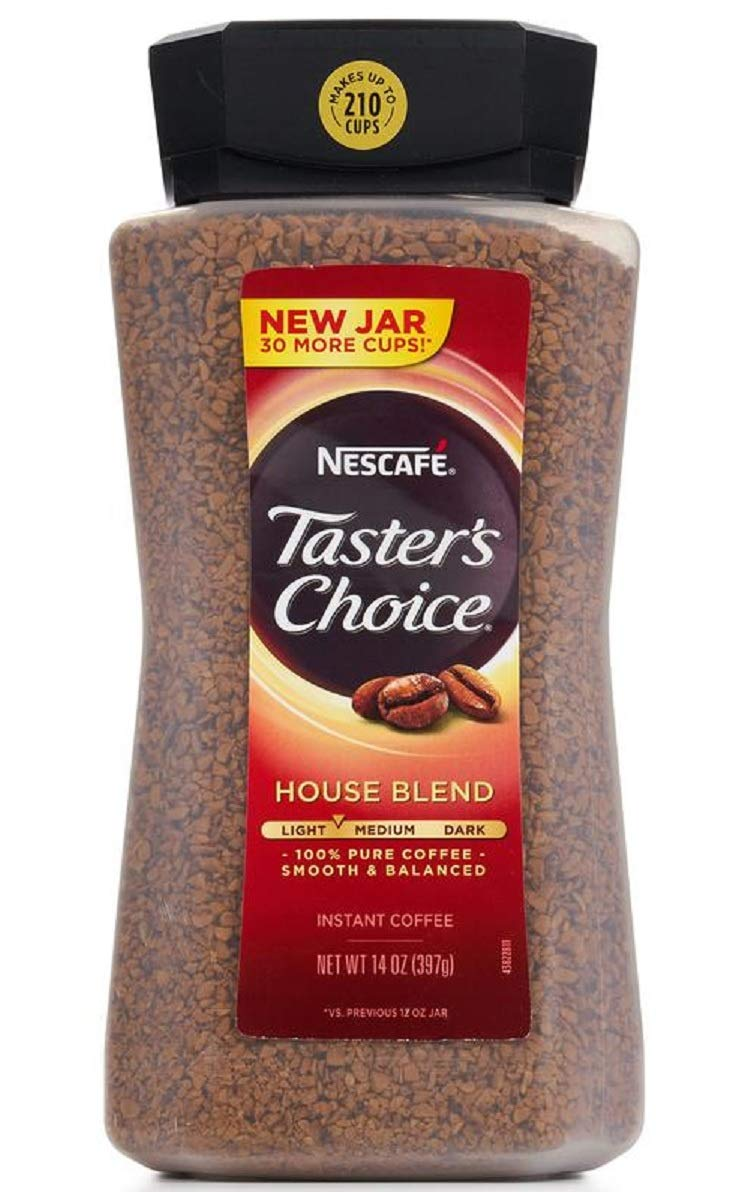 Amazon Com Taster S Choice Instant Coffee 14 Ounce Pack Of 2 Grocery Gourmet Food