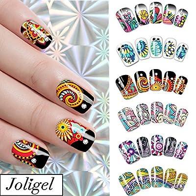 Joligel Pegatinas para uñas