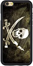 Saul&Dunn Skull Jolly Roger Flag iPhone 7 & iPhone 8 Case Graphic Drop-Proof Durable Slim Soft TPU Cover