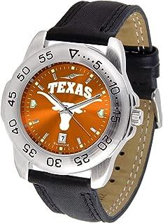 Linkswalker Mens Texas Longhorns Sport Anochrome Watch