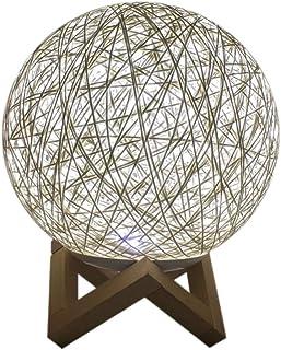 Eariuhfj Lampes sur pied de style japonais, lampadaires pour salon, abat-jour en papier de riz, parfait pour la décoration...