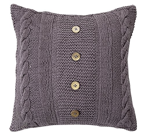 Handknitted Cushion Smoke