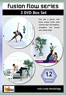Barlates Fusion Flow Series 12 Workouts on 3 DVDs Set