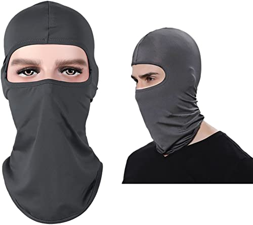 new arrival 1 Pack Full Face Balaclava Summer Cooling Neck Gaiter UV Protector Motorcycle Ski Scarf Face 2021 Bandana Sun high quality Dust Protection Balaclava Neck Scarf for Fishing Cycling Black online