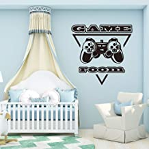 Holly LifePro Gamer Wall Decal Poster Lettering Wall Stickers Murals for Boys Bedroom Playroom Art Design Stickers Wall for Home Playroom(Game Room)