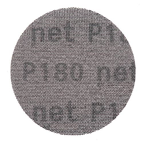 Lija de malla de 100 mm, surtido de papel de lija 80, 180, 240, libre de polvo, con gancho antibloqueo, papel de lija abrasivo redondo para decorar el coche (9 unidades)