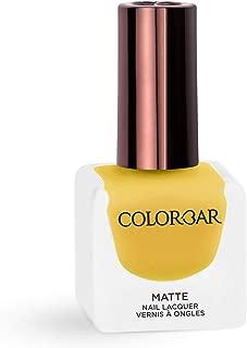Colorbar Matte Nail Lacquer, Biscotti, 12 ml