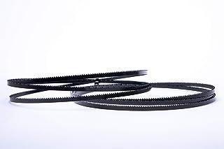 Haager Intercrenn Lot de 2 lames de scie /à ruban haute performance 1425 x 6 x 0,65 mm 6 dents en acier HSS adapt/é pour Gemex Rexon Budget Ferm etc. Varo G/üde STEBS