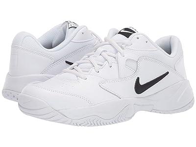 Nike Court Lite 2 (White/Black/White) Men