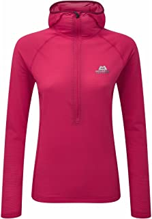 Womens Solar Eclipse Hooded Zip TEE Virtual Pink (UK Size 10)