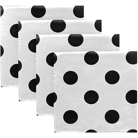 Black//White Polka Dot OPTP Womens 1 Pair Pack of 1 Large