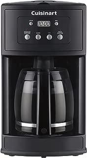 Cuisinart DCC-500FR 12 Cup Programmable Coffeemaker (Renewed), Black