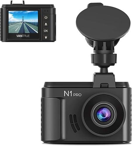 "Vantrue N1 Pro Full HD 1920X1080P Mini Dash Cam for Cars, 1.5"" LCD Mini Car Dash Camera with Sony Sensor, Super Night..."