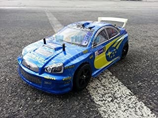 NEW 1:10 Subaru WRX STI Electric RC ESC Sport Car with Battery Pack Included Ready to Run High Speed R/C Color May Vary