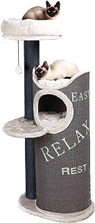 Trixie Rascador para Gatos Juana, 134 cm de diámetro, marrón/Crema