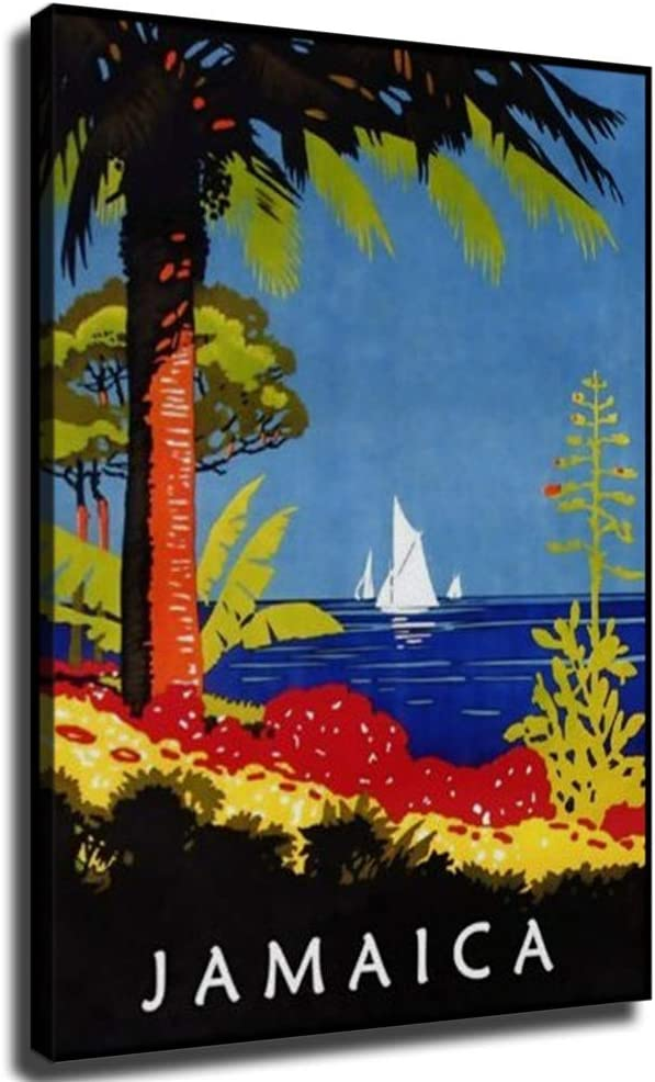 18%OFF MIKE Vintage Poster Jamaica Painting Canvas Pictures 特価 for Prints